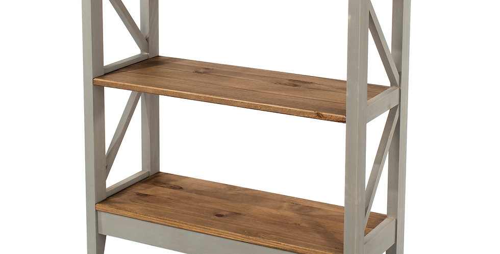 3 tier wide shelf unit