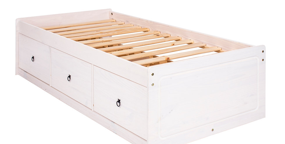 """Cabin bed 3'0"""" with three drawers"""