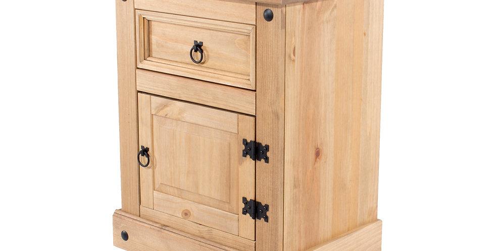 Bedside cabinet 1 drawer 1 door