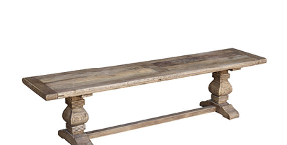 Old Elm bench seat