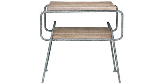 Reclaimed Oak side table