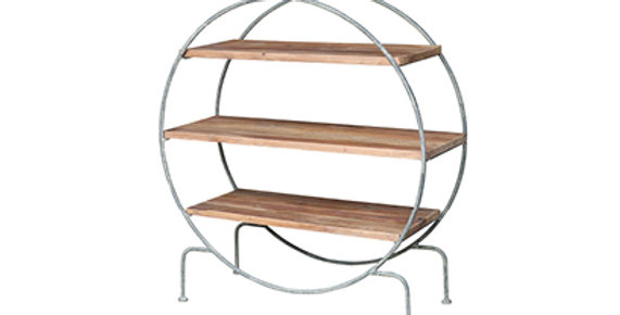 Round shelving unit