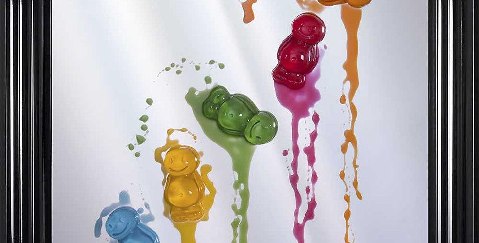 Melting Jelly Babies - 3D artwork