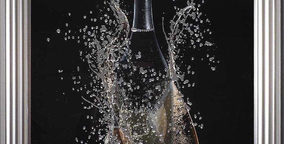 Champagne liquid art