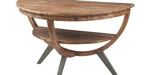 Reclaimed Elm wall table