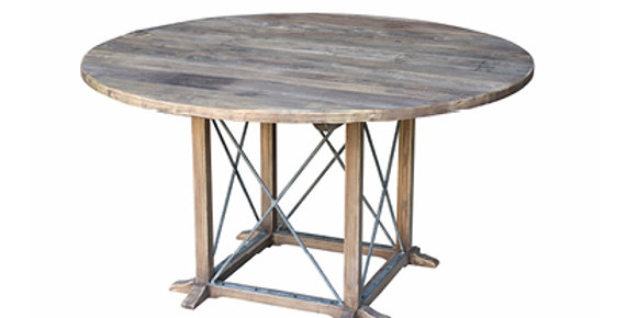 Reclaimed Elm round dining  table