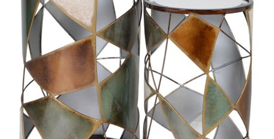 FRAGMENTED SIDE TABLES