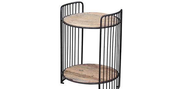Reclaimed Oak 2 tier shelf