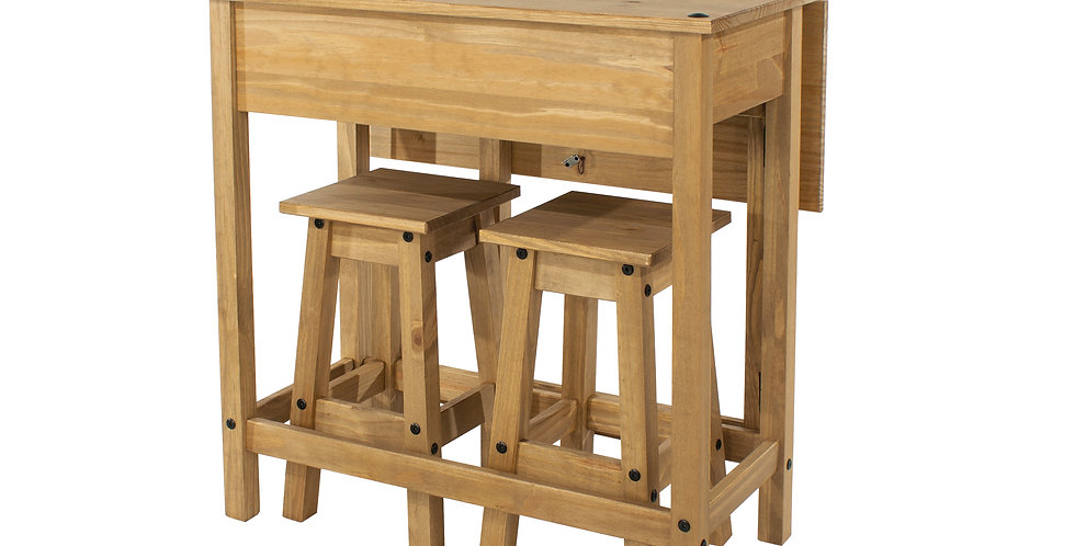 Breakfast bar and stools