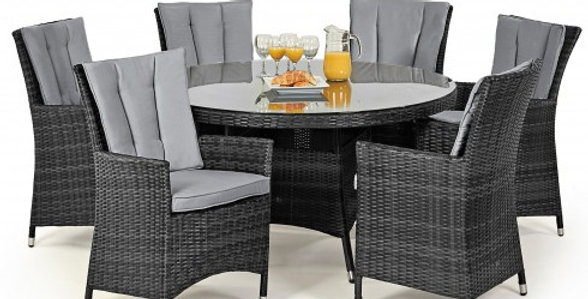 6 Seater round table set