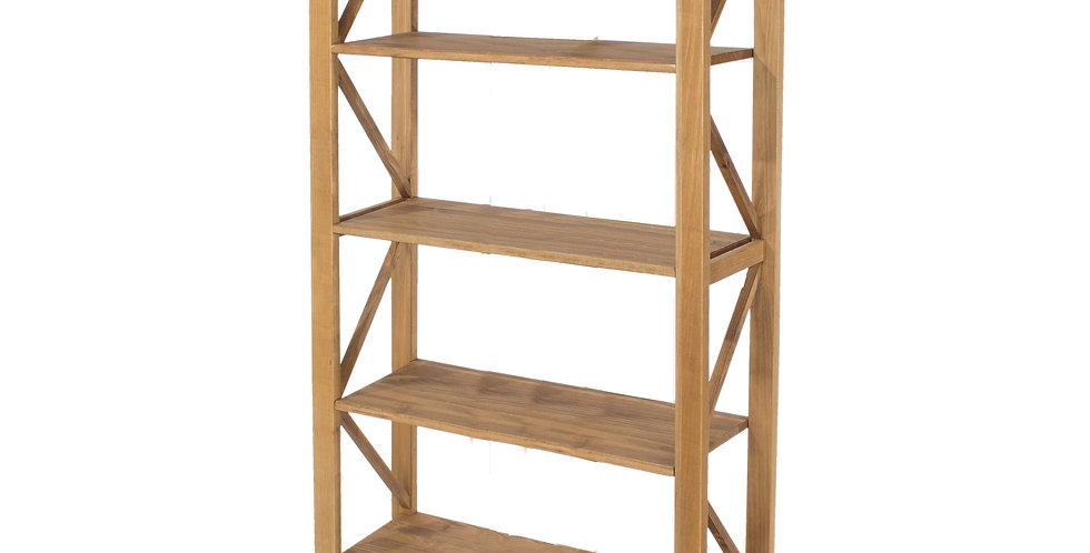 5 tier wide shelf unit