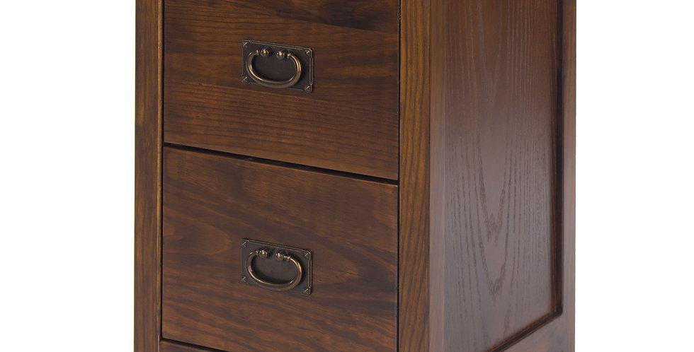 Bedside cabinet 2 drawer petite