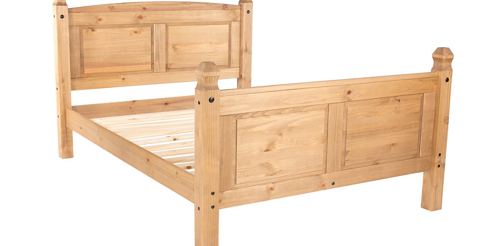 "Double bed 4'6"" with high end bedstead"