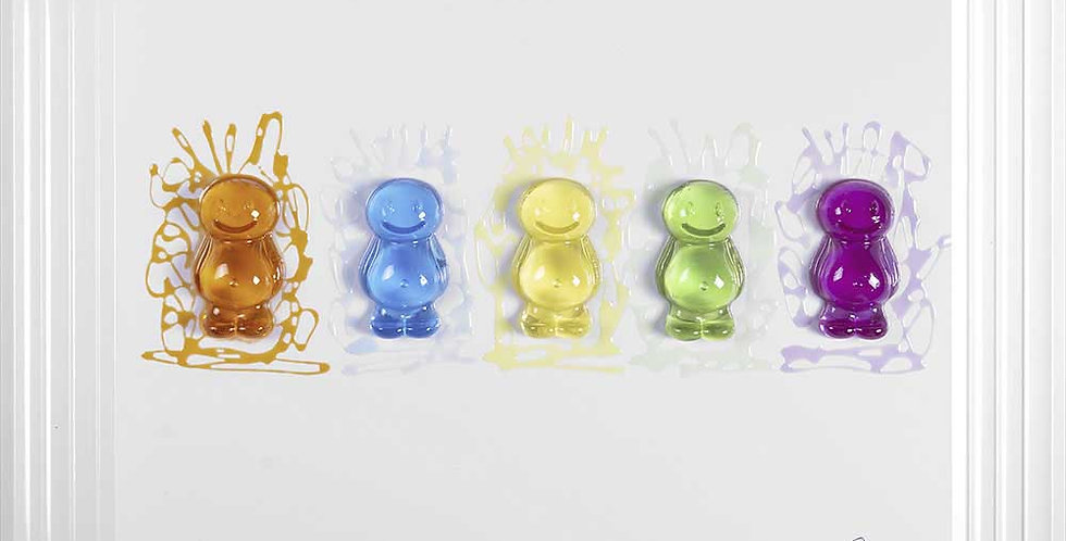 Jelly Babies - 3D Artwork