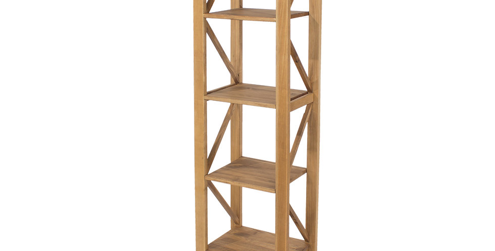 5 tier narrow shelf unit