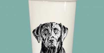 Storage Jar with lid - Labrador