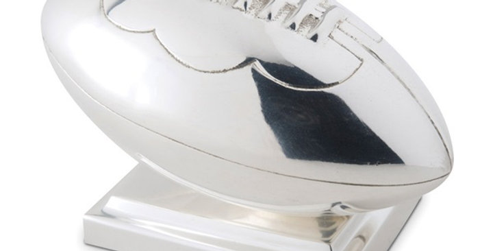 RUGBY BALL DOOR STOP by Culinary Concepts