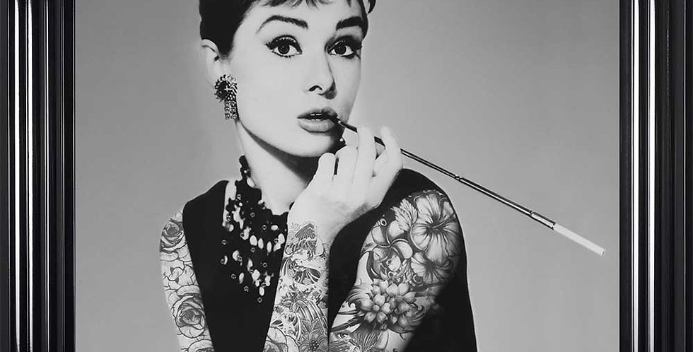 Audrey with Tattoos