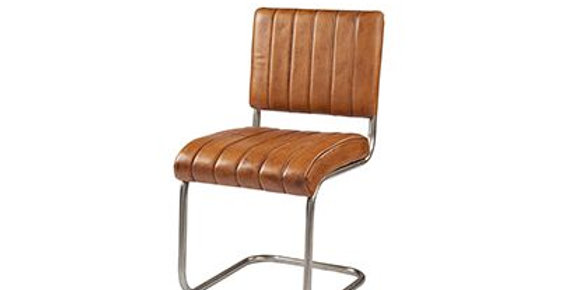 Loco leather dining chair