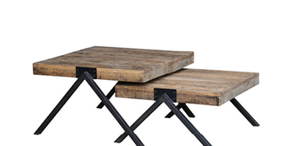 Reclaimed Oak side tables