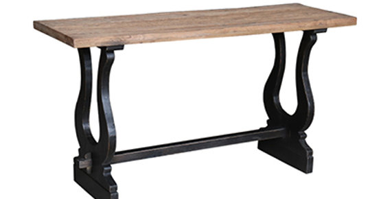 Reclaimed Oak & Old Pine console table