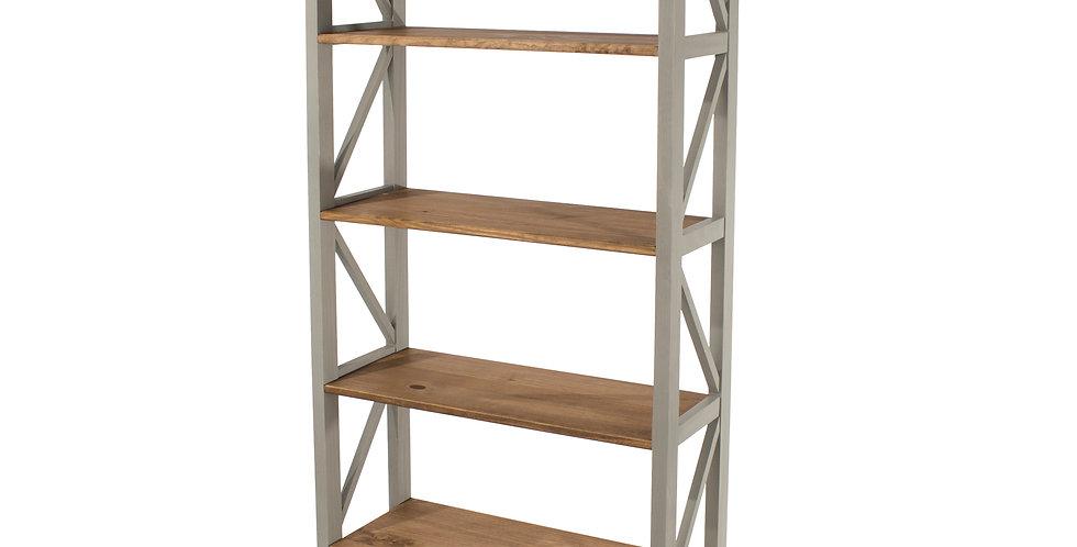 5 tier wide shelf unit