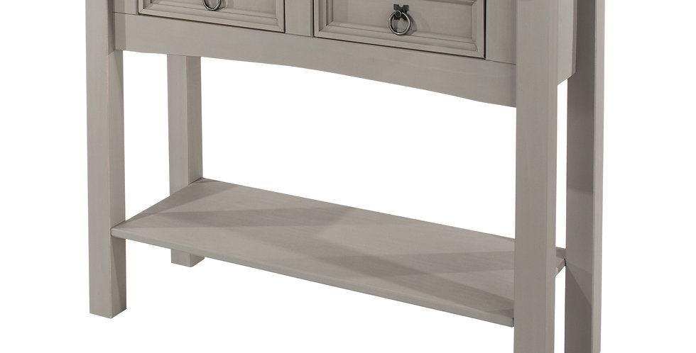 Hall table 2 drawer