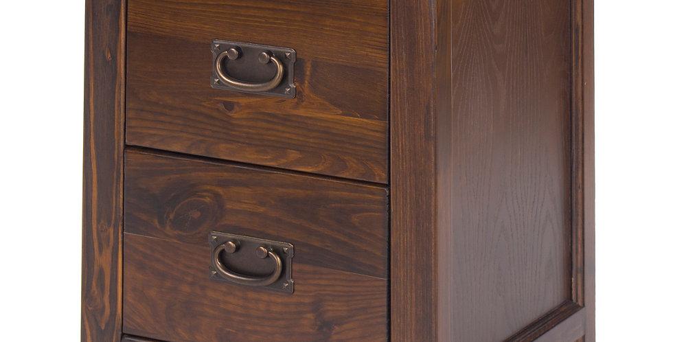 Bedside cabinet 2 drawer