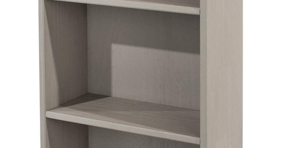 Bookcase low & narrow