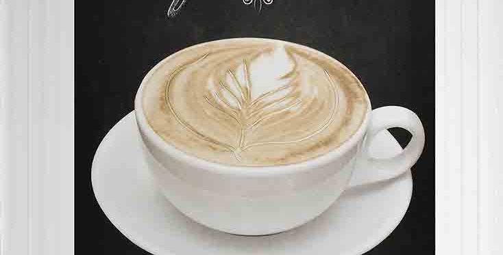 Chalkboard - Cafe Latte