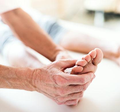 A foot treatment.
