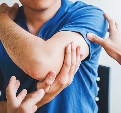 Elbow treatment.