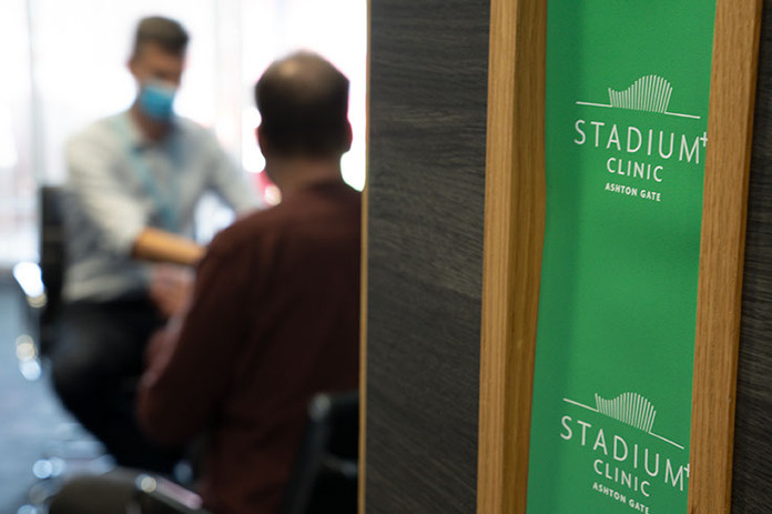 Stadium Clinic Consultation Room