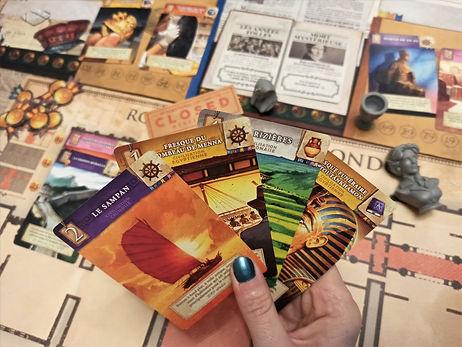 jeu de société cartes