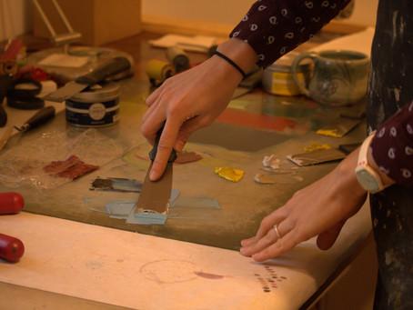 Manhattan artist Mary Gordon finds passion in printmaking