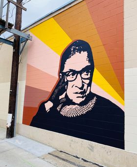 Manhattan locals honor RBG's legacy with new mural downtown