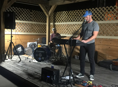 Tates on Moro Hosts Humbled Pride on Back Patio Stage
