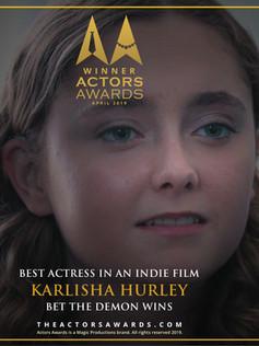 Best Actress - Actors Awards