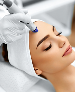 Microdermabrasion with Collagen Treatment