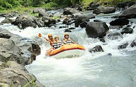 River Rafting,Wildwasserfahrt auf Lombok