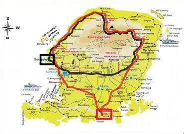 Deutschsprachiger Reiseleiter/Fahrer auf Lombok