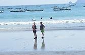 ein schöner Strand auf Lombok,Selong Blanak Strand