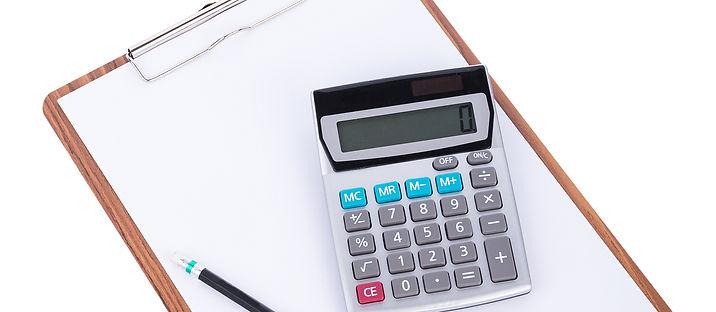 calculator-pencil-blank-paper-wooden-cli