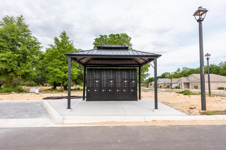 New mailboxes at Eleven Oaks in Eustis, FL