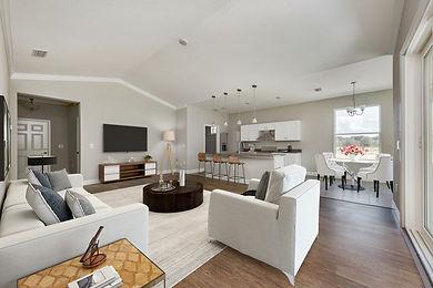 2 - Living room (breakfast area on the f