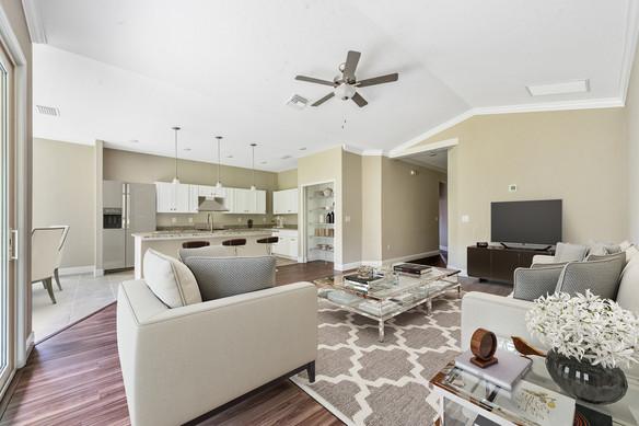 Living Room - Chapman Floor Plan - Eleven Oaks