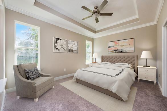 Master Bedroom - Willow Oak Floor Plan - Eleven Oaks