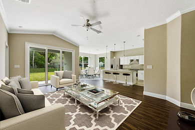 8 - Living room (breakfast area in the b