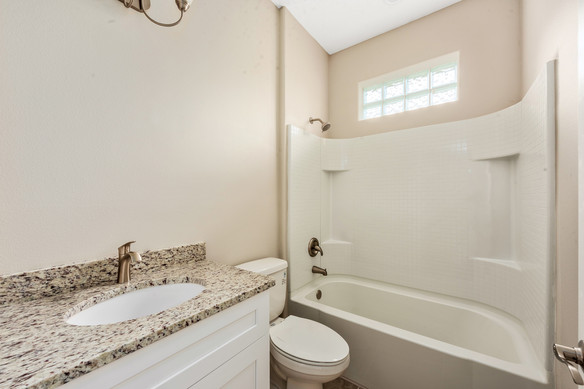 Guest bathroom - Chapman Floor Plan - Eleven Oaks