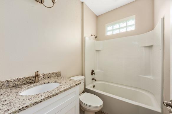 Guest bathroom - Chapman Floor Plan - Eleven Oaks